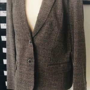 Blazer Ny&co Size 18 (Brown Tweed)